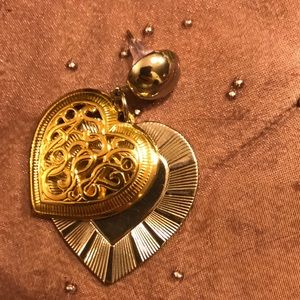 Flawless Gold & Silver in one Earrings!